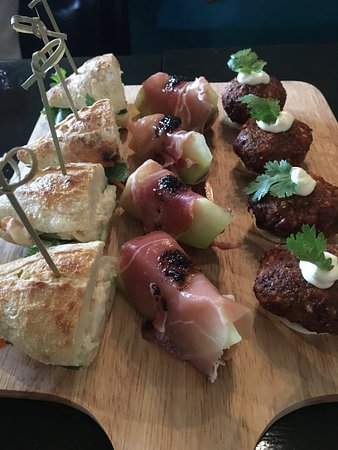 Comfort by Harlan : Appetizer board