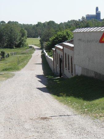 Karlslund Manor House: Karlslund: Trädgårdsmur