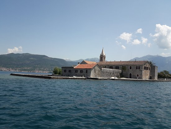 Poseidon - Rent a Boat Montenegro: Island 'Lady of Mercy' at Tivat
