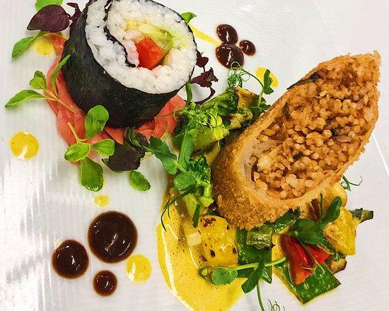 Das Hausgast Restaurant : Sushi und CousCous