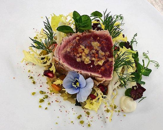 Das Hausgast Restaurant : Thunfisch Medaillon