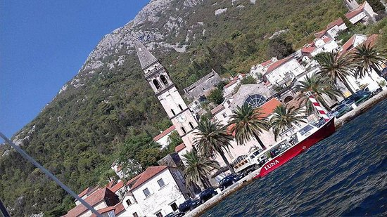 Poseidon - Rent a Boat Montenegro: Town of Perast