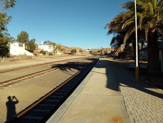 Station van Aus