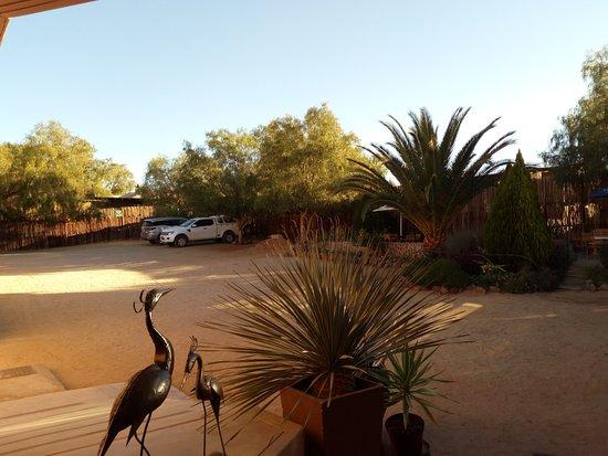 Aus, Namíbia: Parking