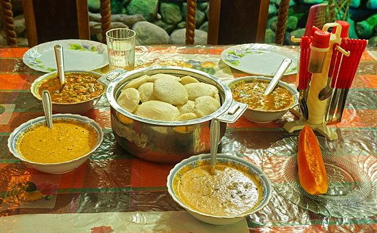 Nature View Guest Inn: Idly, traditional Tamil breakfast (try eating it with your right hand)