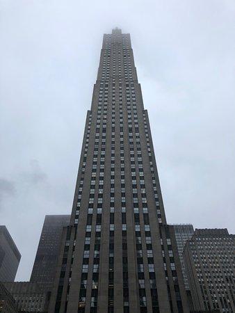 Rockefeller Center: The Rockefeller centre from street level