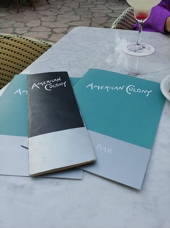 American Colony Hotel Arabesque Restaurant Fotografie