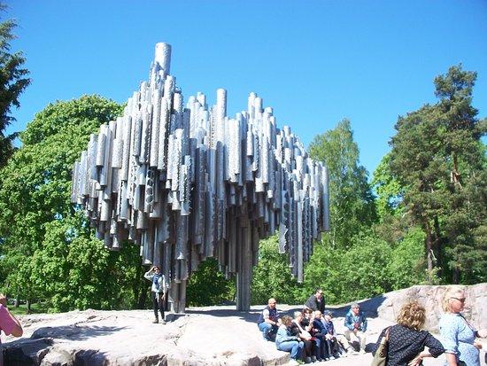 Sibelius Park: il monumento