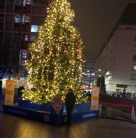 Southbank xmas tree