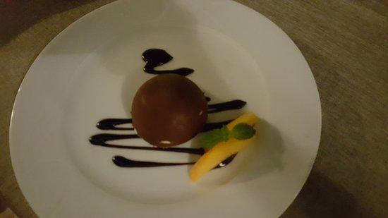 Zuheros, España: Bola de chocolate