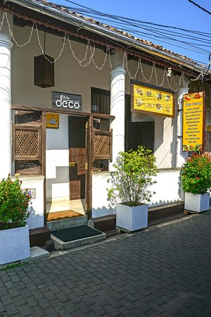 56 by Deco: Restaurant Entrance