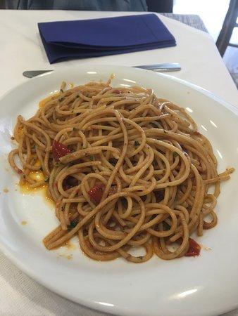 La Galea : Spaghetti cetarese