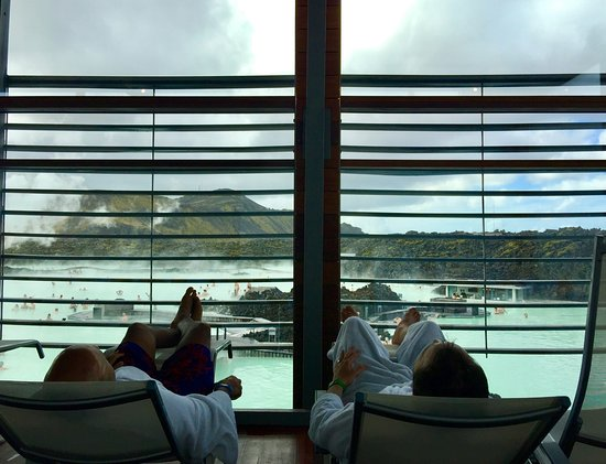 Hreyfing Heilsulind: From the relaxation lounge