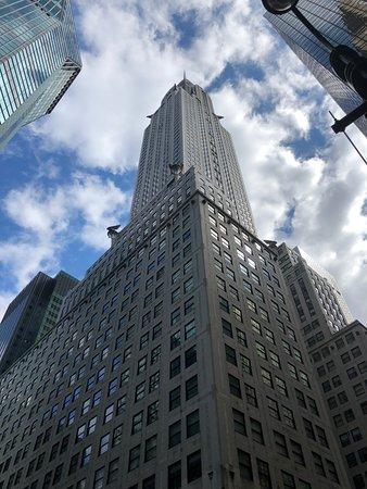 Chrysler Building: From outside