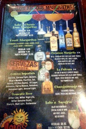 Lalo's Mexican Restaurant Schaumburg : more drinks & beverages