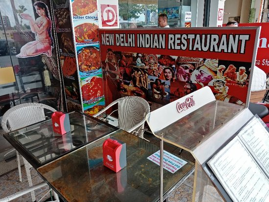 New Delhi Indian Restaurant : Not so delicious food, it's so, so. I ordered the tikka fish, 8 very small bite size pieces of f