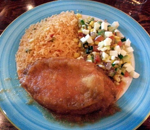 Lalo's Mexican Restaurant Schaumburg : lunch chile relleno