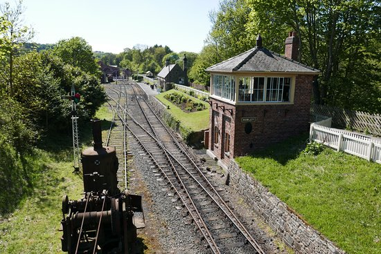 Beamish Museum : Railway Station