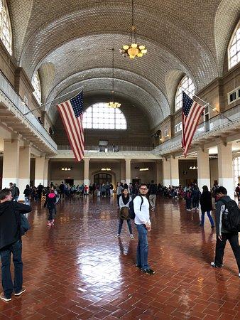Ellis Island Immigration Museum: Main hall