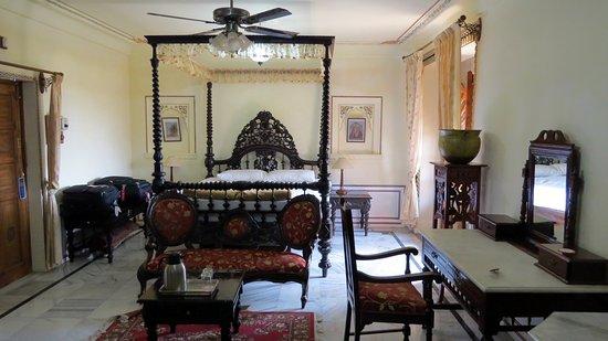Stylisches Zimmer Im Kolonialstil Picture Of Jagat Palace Pushkar