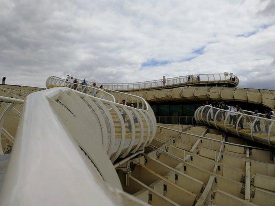 Setas de Sevilla (Metropol Parasol) ภาพถ่าย