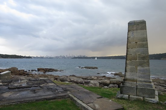 Watsons Bay, Αυστραλία: Memorial down on the rocks