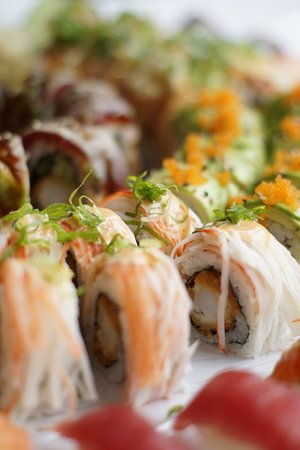 Takeasy Sushi: Party menu