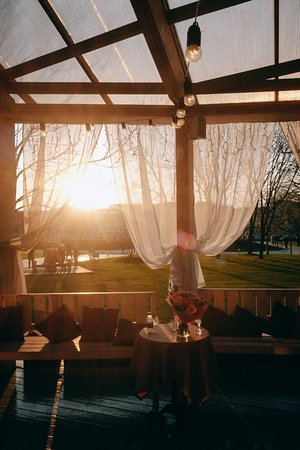 Shardam: На закате веранда выглядит особенно красиво!