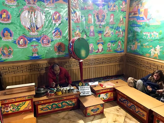 Gadhan Thekchhokling Gompa Monastery: Place to sit and meditate