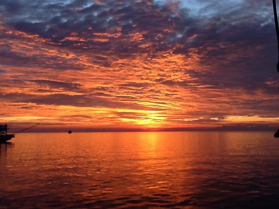 Unseen Tours Koh Tao: Sunset from the boat