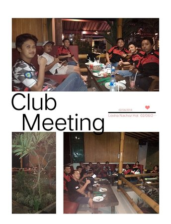 Meeting...Dinner & Drink 02/06/2018