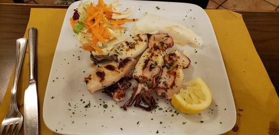 Osteria Al Mariner: Grilled cuttlefish
