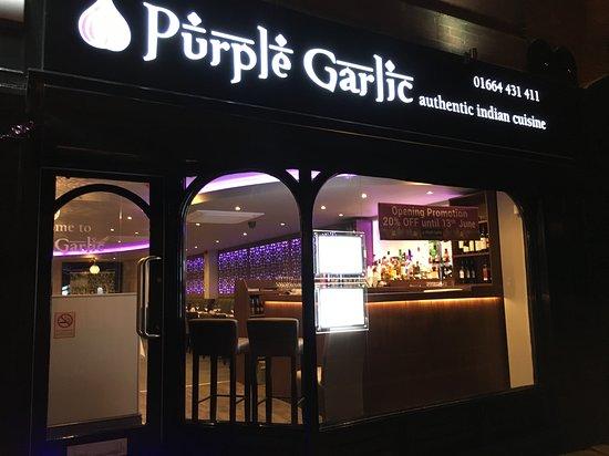 Purple garlic Image