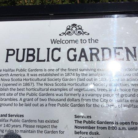 Halifax Public Gardens ภาพถ่าย