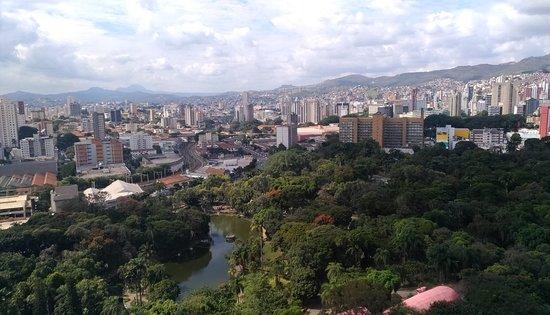 Belo Horizonte Othon Palace Hotel: Vista da janela do apartamento do 17o andar.