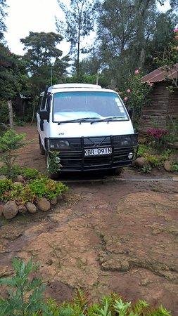 Naro Moru, Kenia: Safari Van