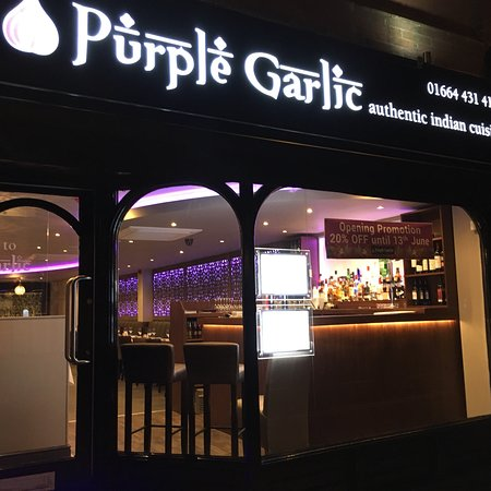 This is the new Purple Garlic
