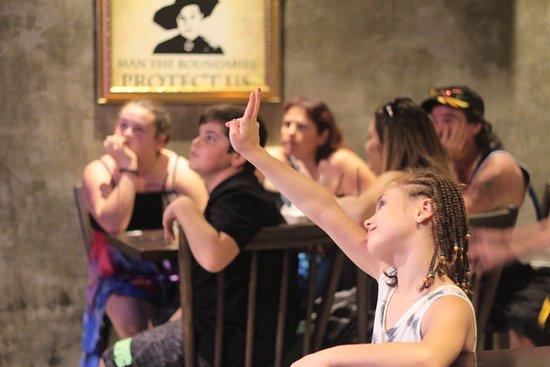 Hogwartz The Pub: Kids love magic