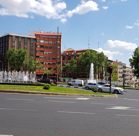 Plaza de San Martín: Just another plaza.