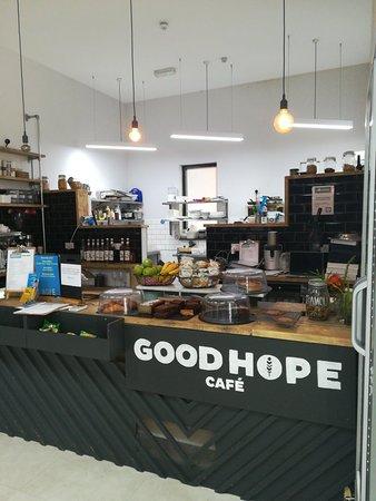 Lewisham, UK: Cool, fresh cafe