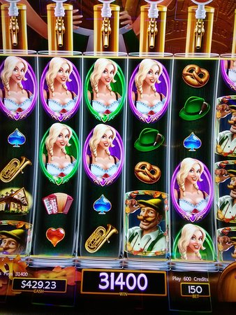 Montego Bay Casino Resort: Nice win on Heidi Beir Haus, Very fun to play!
