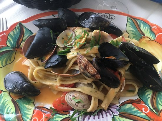 Le Bonta del Capo: Seafood Pasta