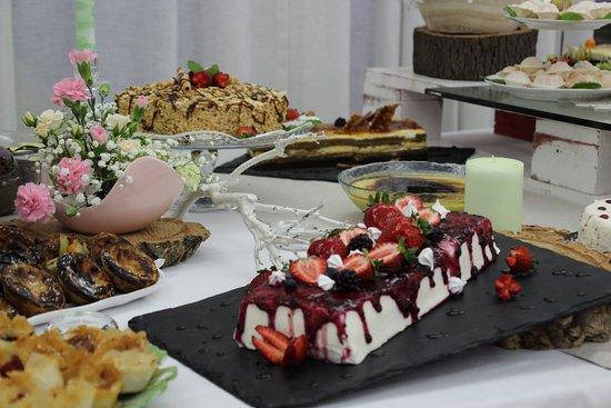 Porto de Mós, Portugal: Buffet de Sobremesas   Desserts Buffet