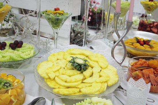 Porto de Mos, Portugalia: Buffet de Frutas | Fruits Buffet