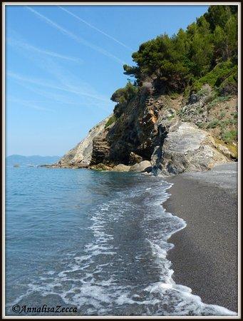 Punta Corvo: la spiaggia
