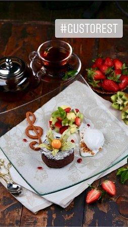 Gusto: десерт Фондан