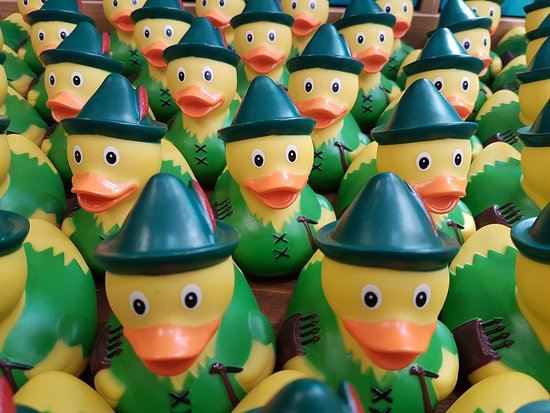 Dukki Ltd: Robin Hood Rubber Ducks