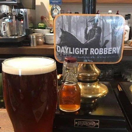 The Black Horse: Daylight Robbery - Our very own Beer!