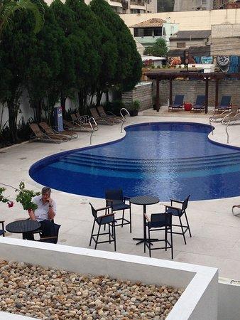 Sandri Palace Hotel: Espaço externo do hotel Sandri
