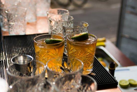 Dapper: cocktails